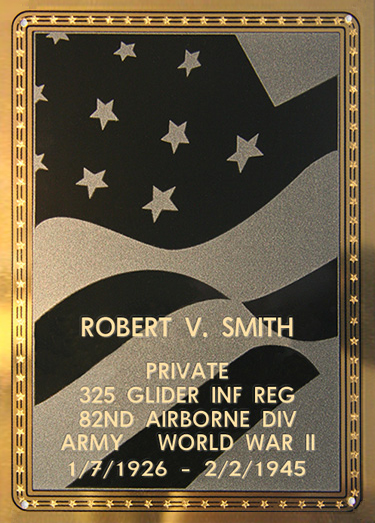 Robert V. Smith Plaque